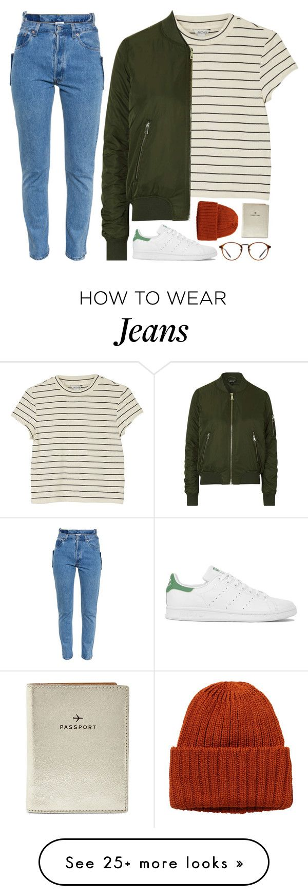 """Margot"" by sulk-y on Polyvore featuring Monki, Topshop, adidas, FOSSIL and Vetements"