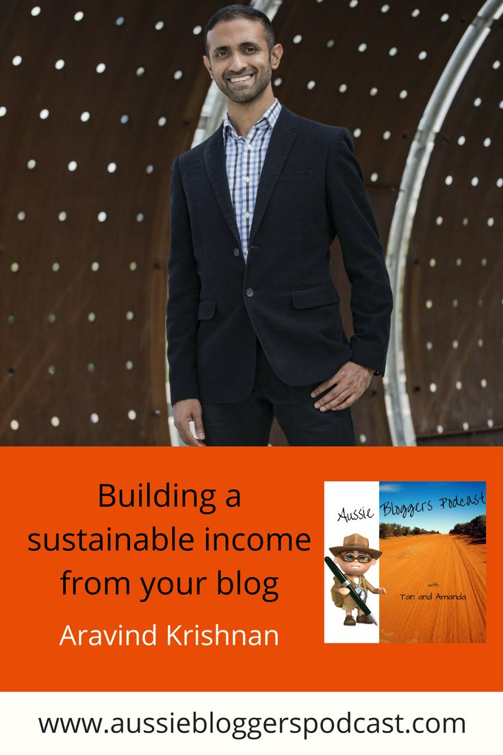 BUILD A SUSTAINABLE INCOME FROM YOUR BLOG | Learn: Crafting your blog as a commercial venture | Turning your blog into your day job and how it can be done | Why he makes his information free while still deriving an income from it | Partnering with others to build a sustainable income | Adapting your blog to use his own model | Why blogging can be the catalyst for other ideas | How he discovered blogging | #blogging #abp https://www.buzzsprout.com/53502/433476-aravind-final-mp3