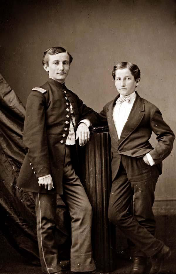 John Clem And Brother John Clem Who At Twelve Years Old