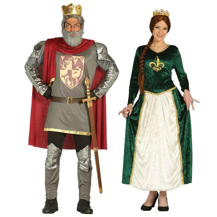 Pareja Reyes Medievales #parejas #disfraces #carnaval