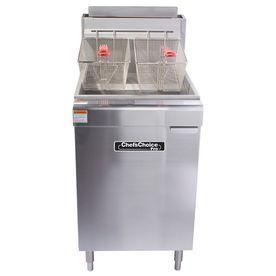 Chef's Choice 50-Lb 2 120000 Commercial Deep Fryer Cf50120l