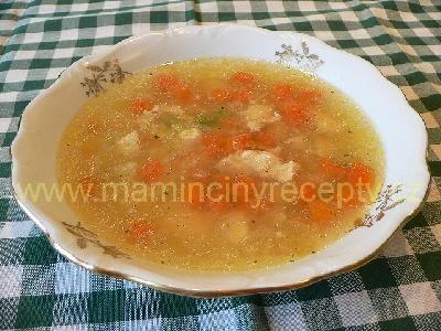 Rychlá kuřecí polévka