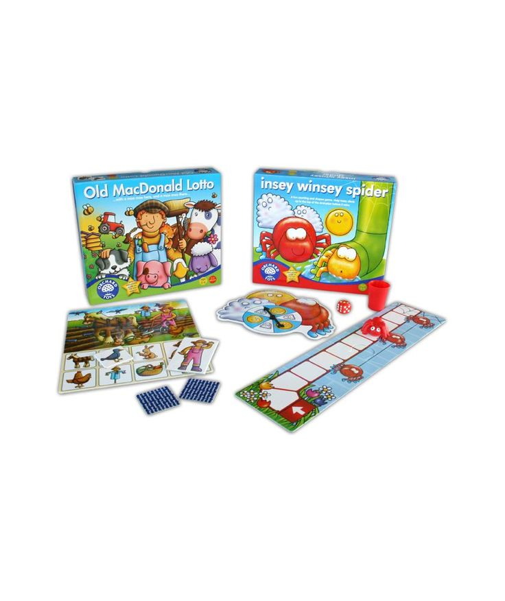 Buy Early Learning Board Games 2 Pack at Argos.co.uk - Your Online Shop for Games and board games.