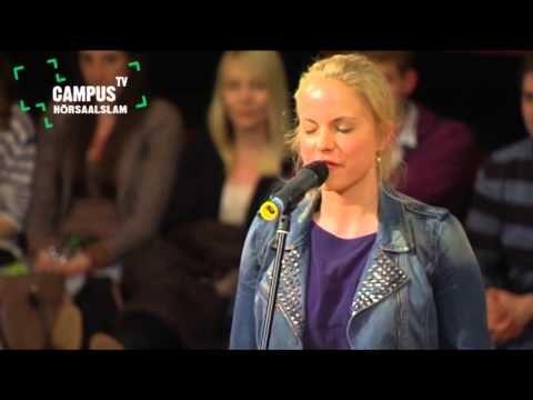 Einfach nur klasse  . . .. ▶ 5. Bielefelder Hörsaal-Slam - Julia Engelmann - Campus TV 2013 - YouTube