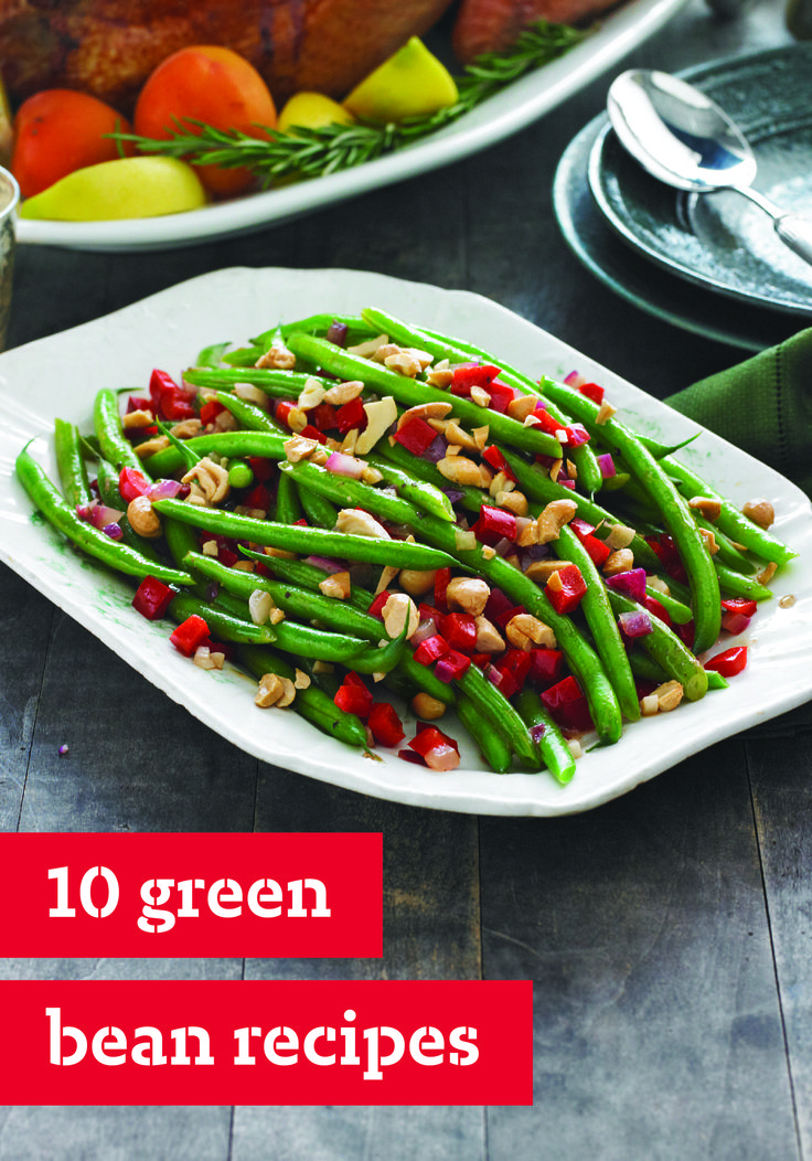 10 Green Bean Recipes – Who said it wasn't easy being green? It is ...