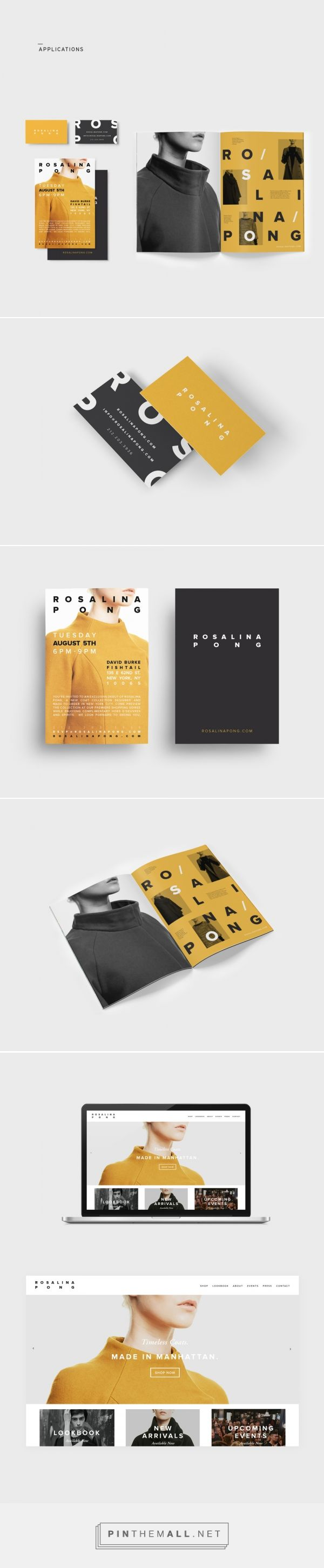 Rosalina Pong Branding by Saxon Campbell | Fivestar Branding – Design and Branding Agency & Inspiration Gallery