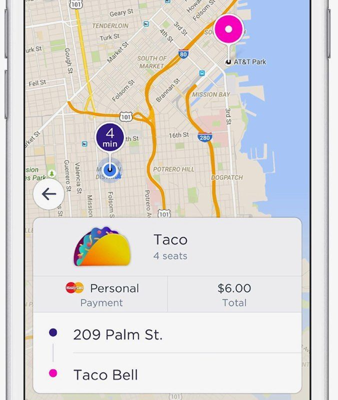 """@lyft is partnering with @tacobell for late night munchies pit stops.Lyft and the fast food restaurant chain debuted """"Taco Mode"""" today, which allows riders to add on a Taco Bell side trip during their ride with a simple tap within the app.  Lyft's new partnership with Taco Bell seems like a weird cross-marketing campaign at first glance, but it could become a model for future tie-ups to come, and a new revenue opportunity for ride-hailing in general.  #technology #Lyft #uber #ridesharing…"""