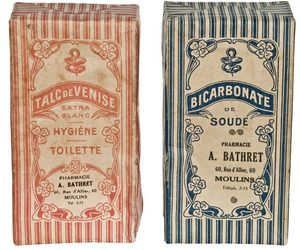 1920 French art Nouveau Pharmacy Cartons