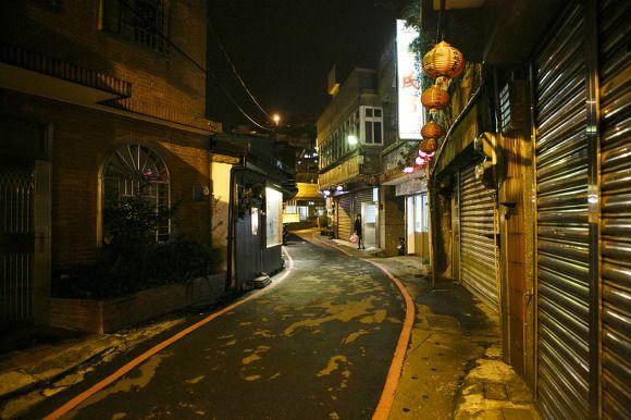 대만 지우펀에서 가장 아름다운 홍등이 있는 길 - 수치루(豎崎路) / 2014.12.04 :: lifephobia