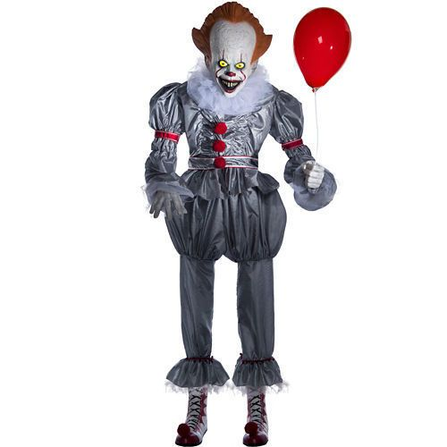 Life,Size Pennywise Animatronic Floats into Party City