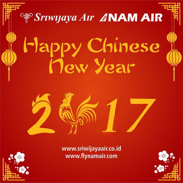 Seluruh Jajaran Komisaris, Direksi, dan Keluarga Besar Sriwijaya Air Group mengucapkan Selamat Tahun Baru Imlek 2568. Gong Xi Fat Cai. Semoga di tahun yang baru ini kita selalu diberikan Kesehatan. Kelimpahan Rezeki, Keberuntungan dan Kebahagiaan. Amin.