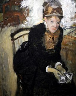 Edgar Degas - Portrait of Mary Casset at National Portrait Gallery Washington DC | por mbell1975