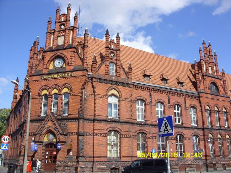 budynek Poczty Głównej,Grudziądz