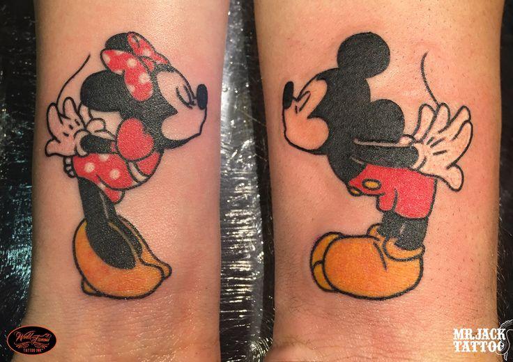 #minnie #mickeymouse #topolino #love #disney #tattoo #tattooartist #colortattoo #mrjack #mrjacktattoo #mrjacktattooartist #tatuaggio #bodyart #arte