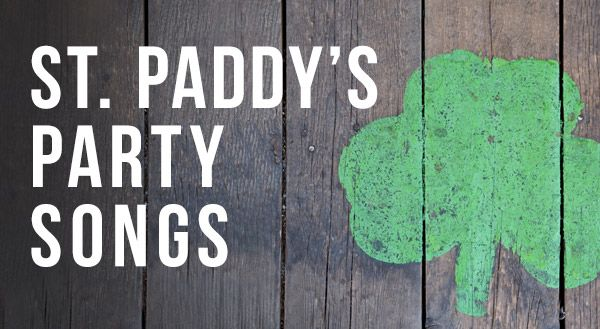 #Music Monday: St. Patrick's Day Songs #playlist