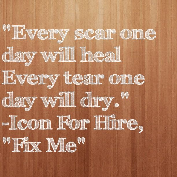 Fix Me by Icon For Hire, This song is REALLY STRONG