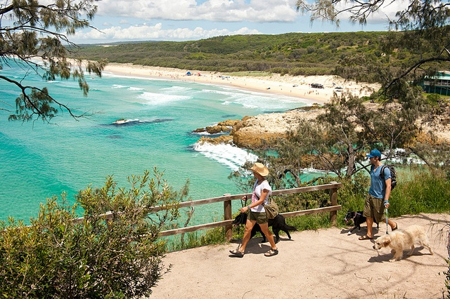 "Overlooking Main Beach on North Stradbroke Island. Our yearly holiday destination. Love ""straddie""."