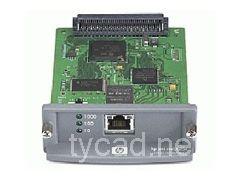J7960G J7960A J7960-61001 Ethernet Print Server for HP Business InkJet 2300 DesignJet 500 T1100 Jetdirect 625n Original used #Affiliate