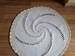 Dywan szydełkowy bawełniany MŁYNEK