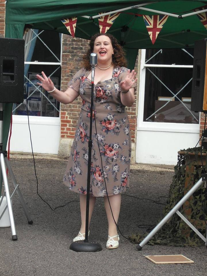 Have you got your ticket for our #Vintage Summer Tea Dance on June 4th. Miss Cherie Lawrence will be appearing along with Major Swing and Kitty to get you all up and dancing.