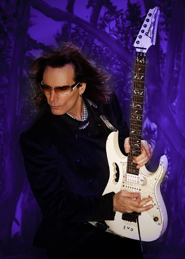 Steve Vai. Greatest guitarist in the world. I don't think he's from here. He's too good.