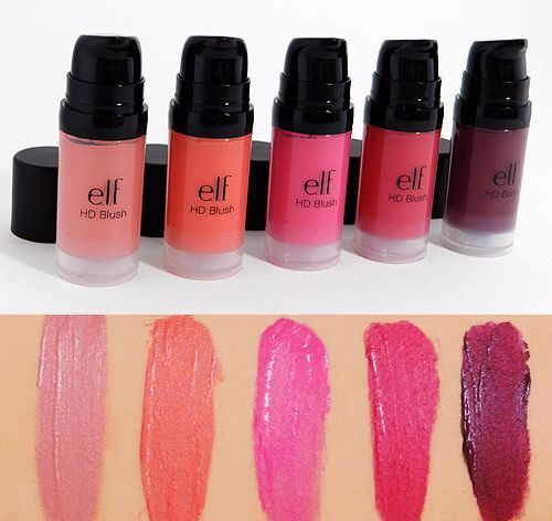 Elf HD Blush swatches
