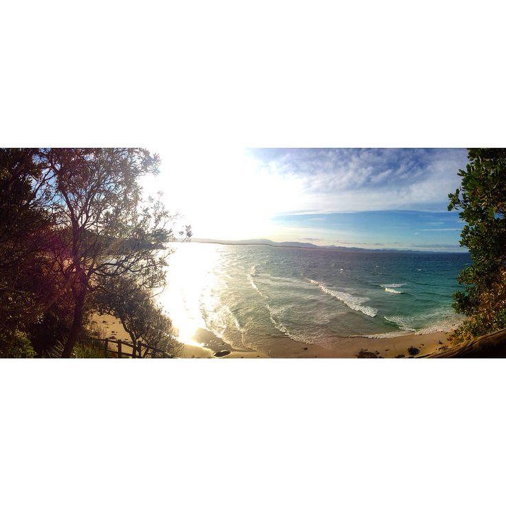 Wategos beach. Instagram: byronbayyogi