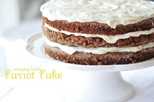 Carrot Cake via everyday lovely: Carrot Cakes, Cakes I Love To Baking 3, Cakes Photos, Diet Food, Cakes Ilovetobake3, Delicious Carrots, Recipes Boxdessert, Carrots Cakes, Cakes Healthy