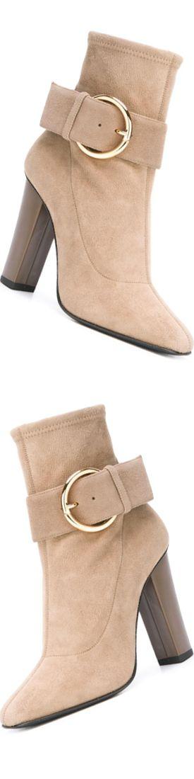 GIUSEPPE ZANOTTI DESIGN Square Toe Ankle Boots