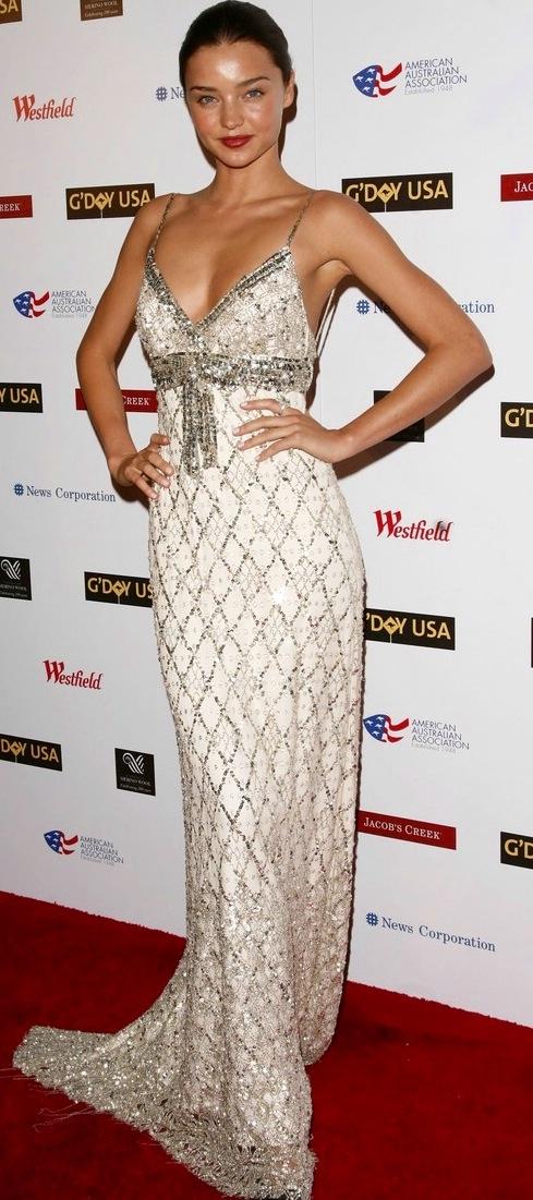 Miranda Kerr #HauteCouture #RedCarpet