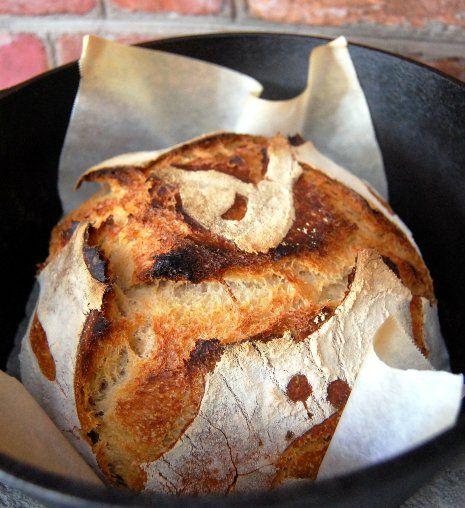Natural sourdough starter & Dutch Oven Sourdough Bread | Neo-Homesteading