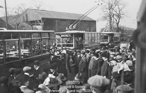Maltby Trolley Buses. South Yorkshire, c1910