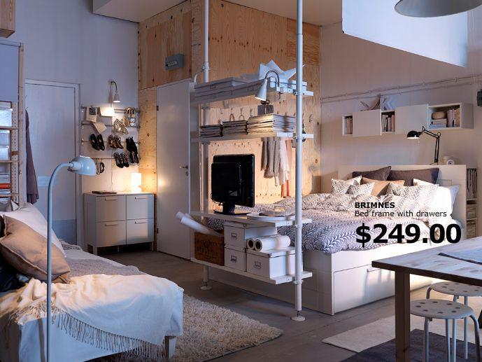 This Studio Apartment Makes Me Drool I Confess Via Ikea