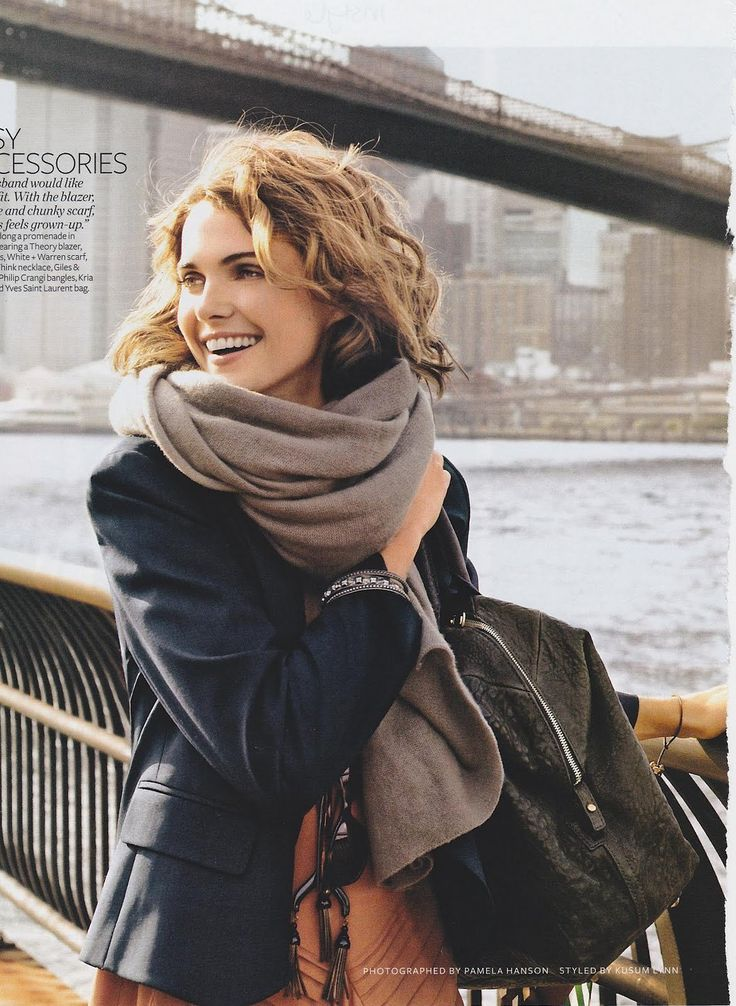 Keri Russell - effortless, natural style.