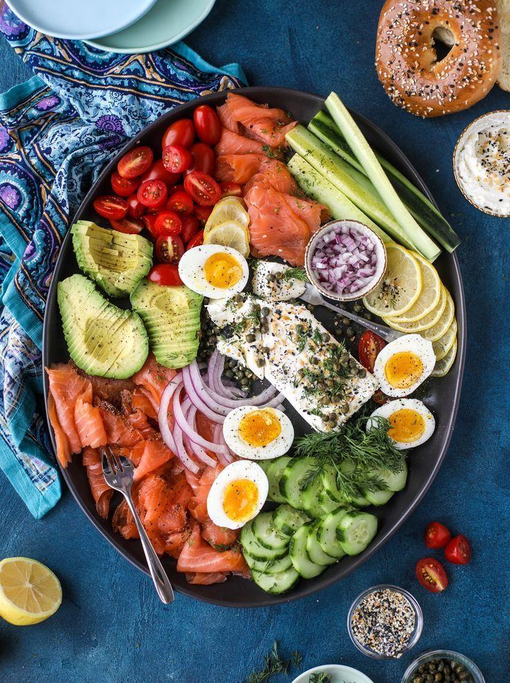 Smoked Salmon Platter Recipe Smoked Salmon Platter Salmon Platter Breakfast Platter