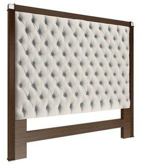 Worth Headboard MidCentury Modern, Upholstery Fabric, Headboard by Ferrell Mittman