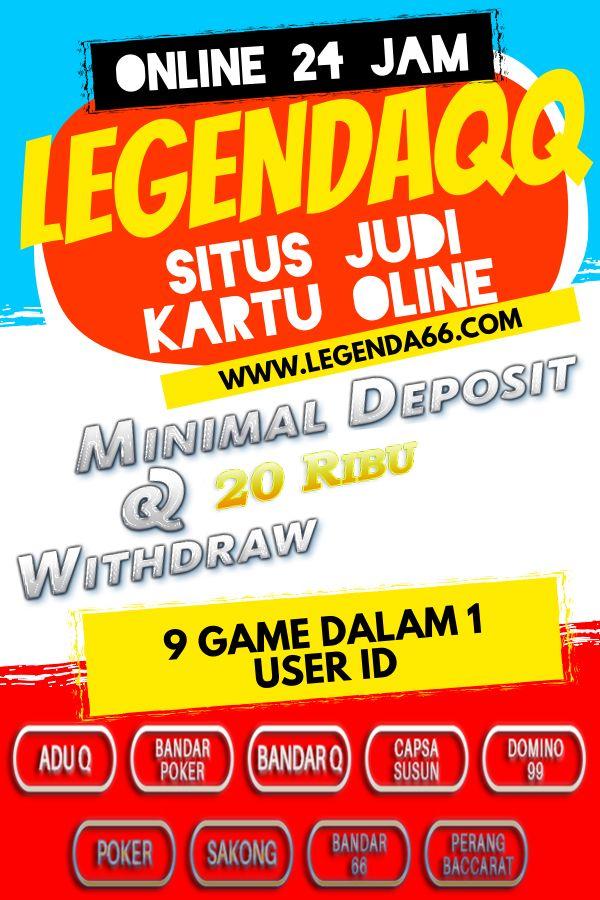 Legendaqq Situs Poker Online Terpercaya Poker Bandar Online