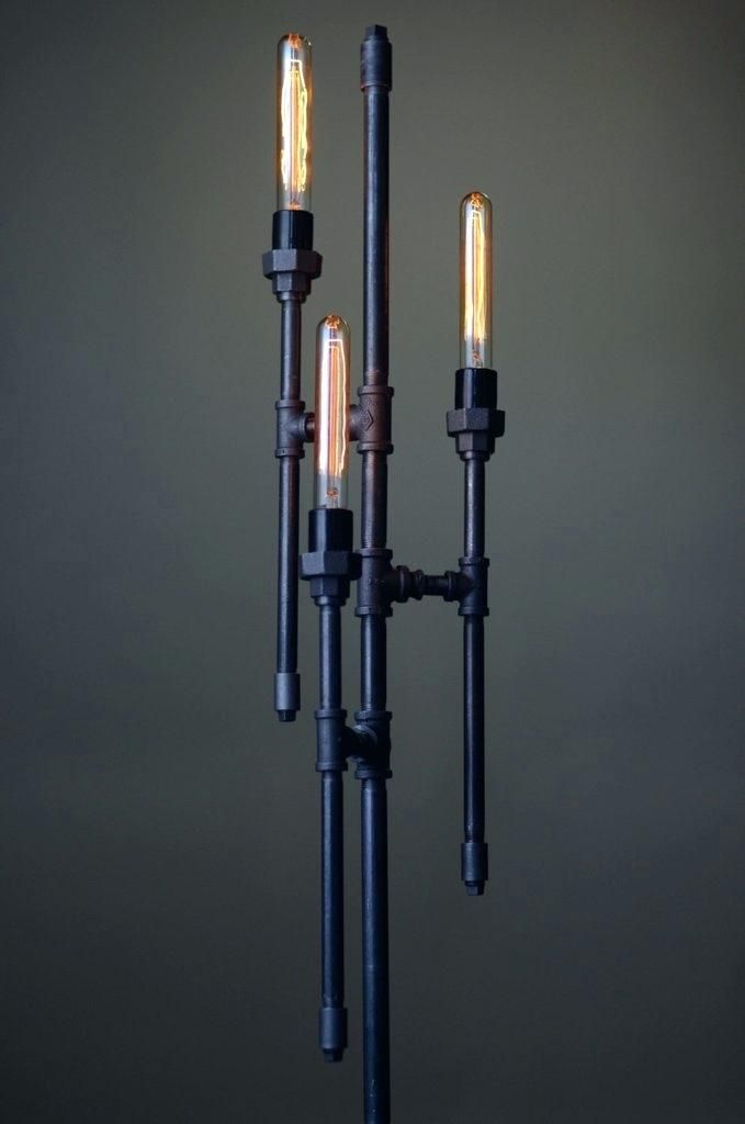 Image result for steampunk standard lamp