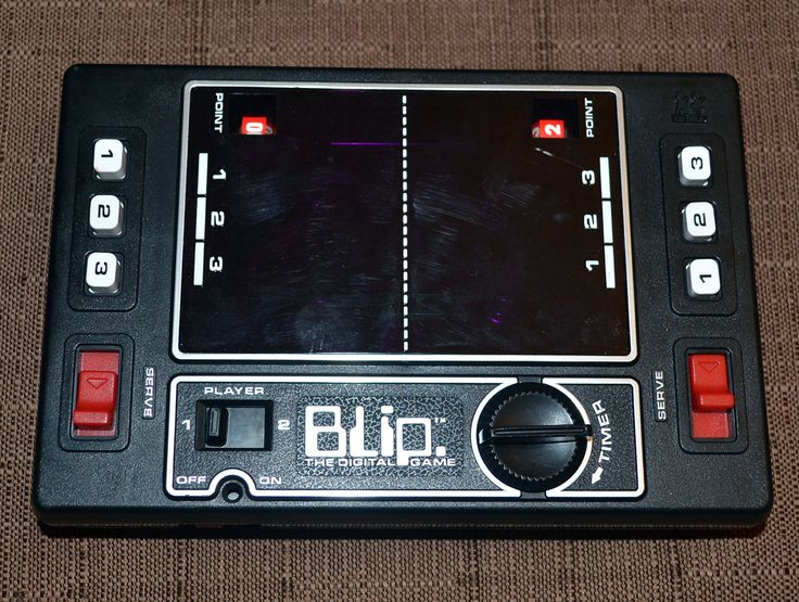 1980s epoch football electronic handheld game vintage