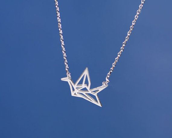 1PCS  N005 Fashion Origami Crane Necklace Paper Crane Necklace Tiny Little Swallow Baby Bird Necklaces Jewelry for women-in Pendant Necklaces from Jewelry & Accessories on Aliexpress.com | Alibaba Group