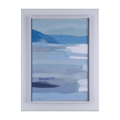 Hobbitholeco Abstract III by Daniel St-Amant Framed Art with Raised Liner