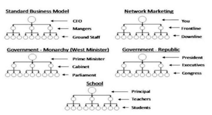 A pyramid scheme is defined is having no product or service. This chart here are clear examples of real pyramids. Wakeupnow is not. We have products you can save on a daily basis. Please feel free to look at our website at http://blancawest.wakeupnow.com or email me at lavenda224@gmail.com