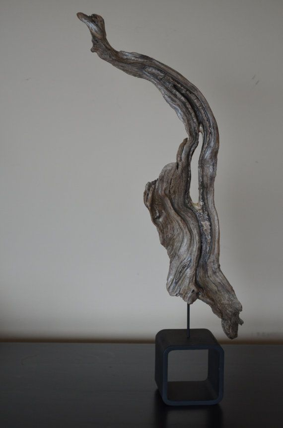Driftwood Art, this eyecatching driftwood art statue will surely make any table display stand out.  Very rustic table display driftwood art.