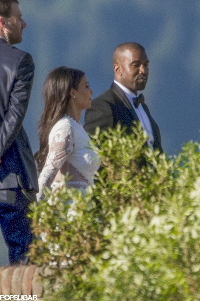See Even More of Kim and Kanye's Wedding Photos!