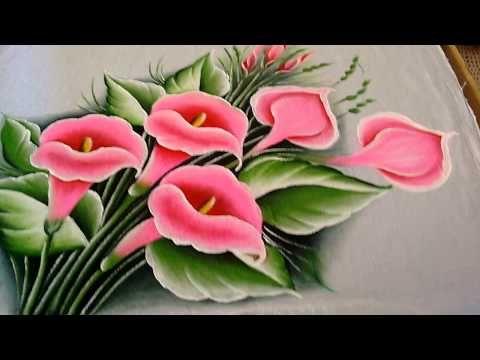 Copo de Leite Rosa - YouTube