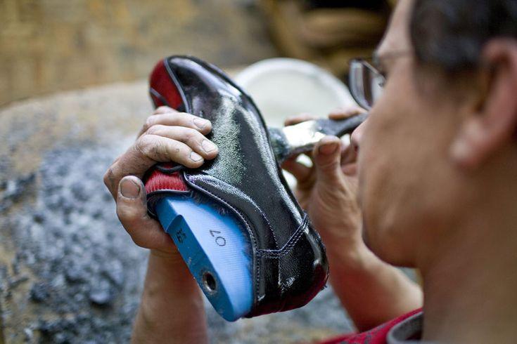Les pointures de chaussures désignent le nombre de centimètres nécessaires à la fabrication de la chaussure.