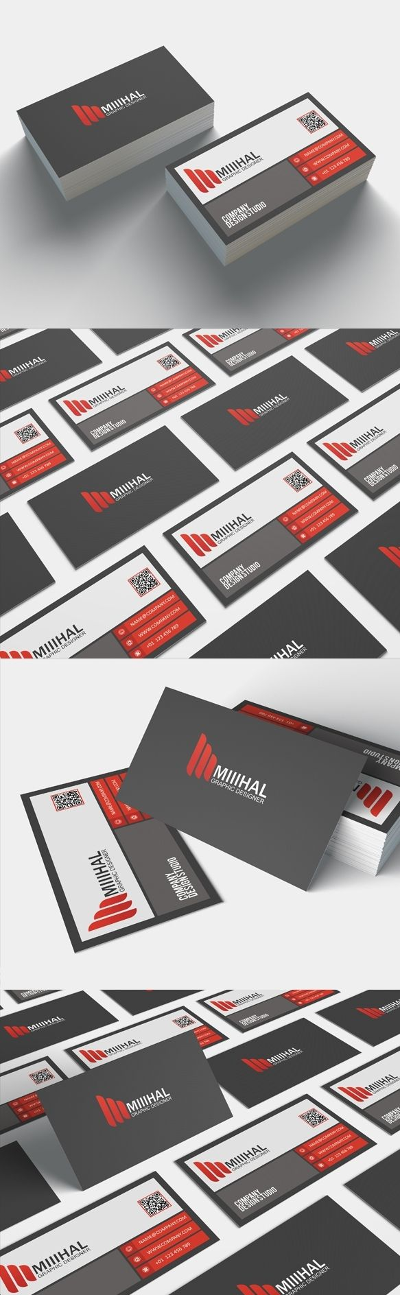 68 best business cards design graphic twister images on pinterest a modern and creative business card template free download on graphictwister reheart