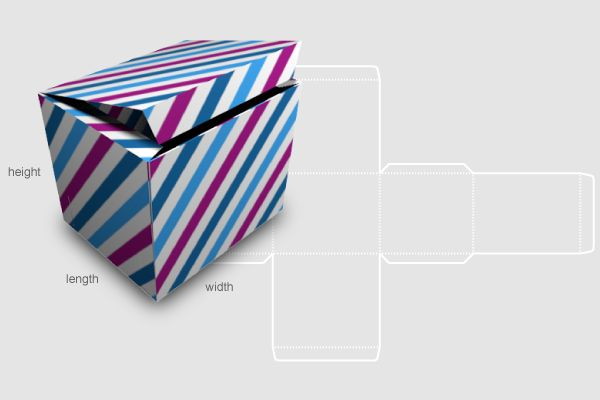 Template maker for boxes here odd sizes. | Silhouette Cameo | Pintere ...