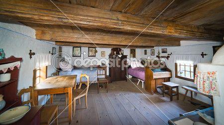 L 39 int rieur de la vieille maison de campagne au xixe - Vieille maison de campagne ...