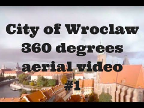 #360video for #virtualreality - #aerial view from a #drone #Polska #Poland